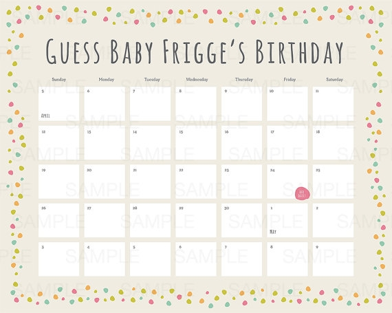 This Customizable Calendar Is The Perfect Activity To Set Up For A