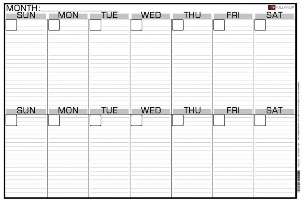 Two Week Calendar Template Free Fieldstationco