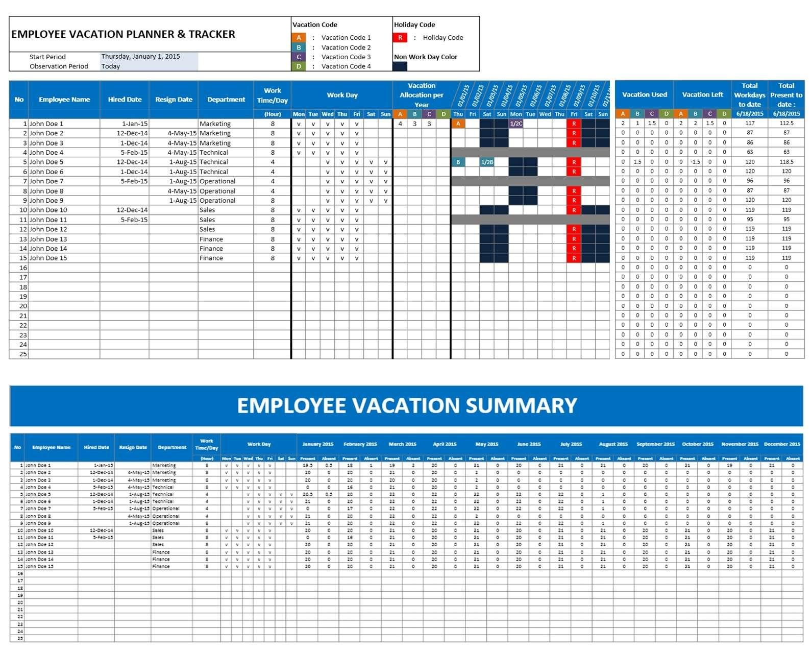 Vacation Planner  Xjb