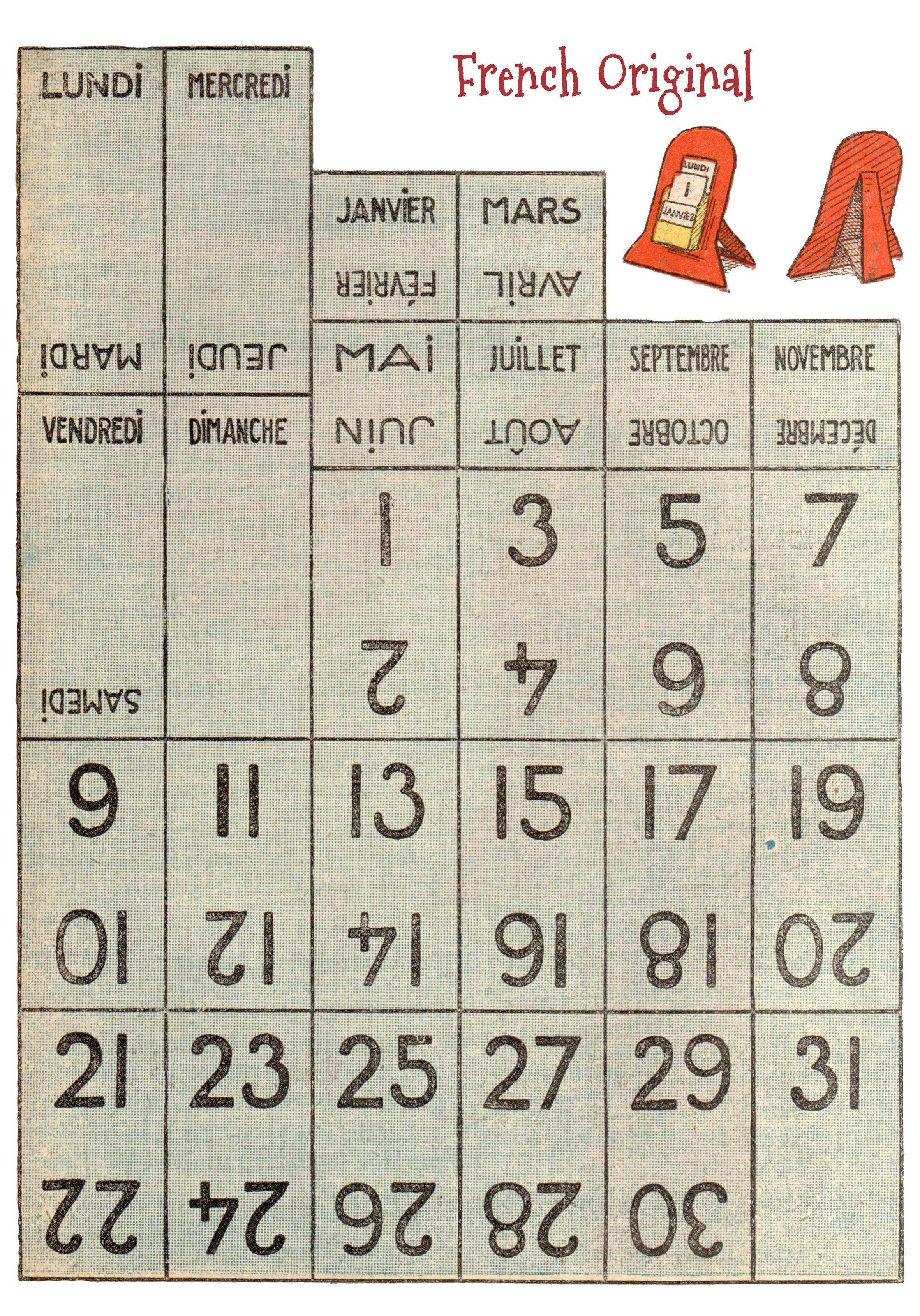 Vintage Perpetual Calendar Free Printable Wings Of Whimsy  Xjb