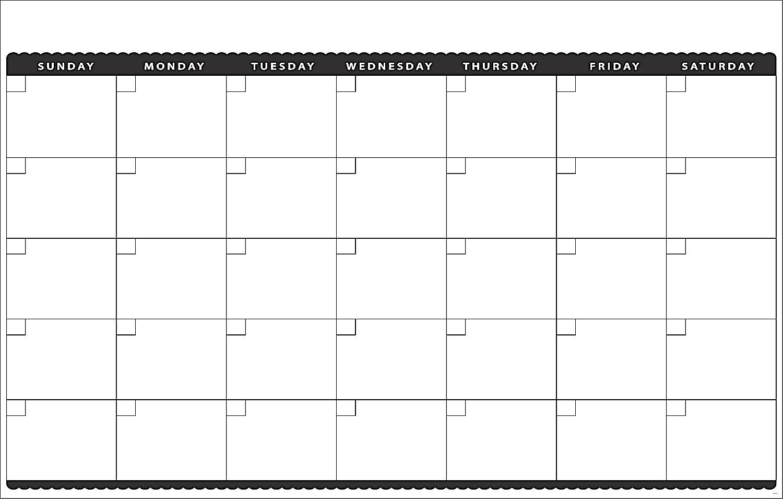 Blank Monthly Calendar Template Classy Photos Studiootb3abry