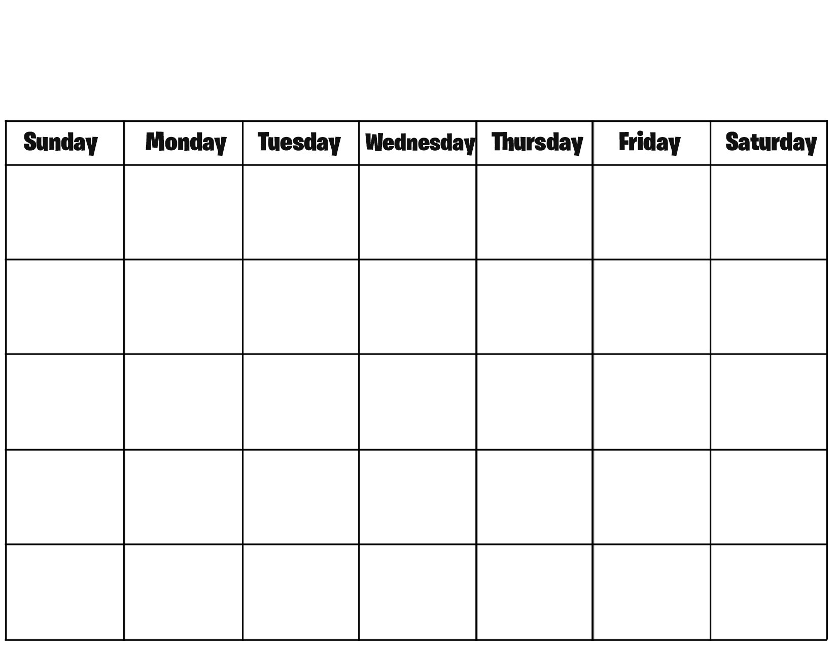 How To Print An Blank Calendar Fully On A Page 2018 Calendar  Xjb