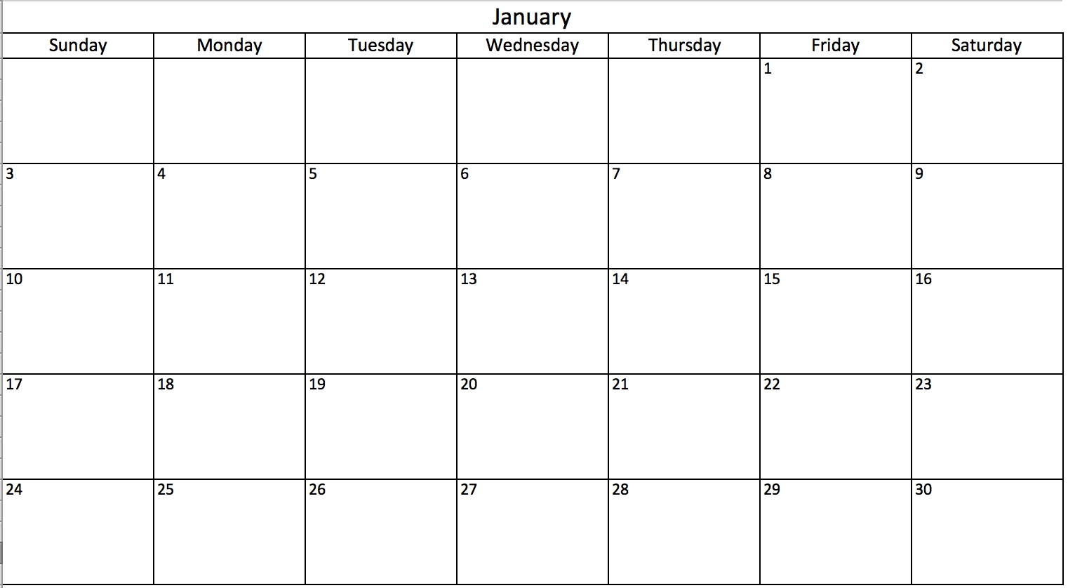 Make A 2018 Calendar In Excel Includes Free Template3abry