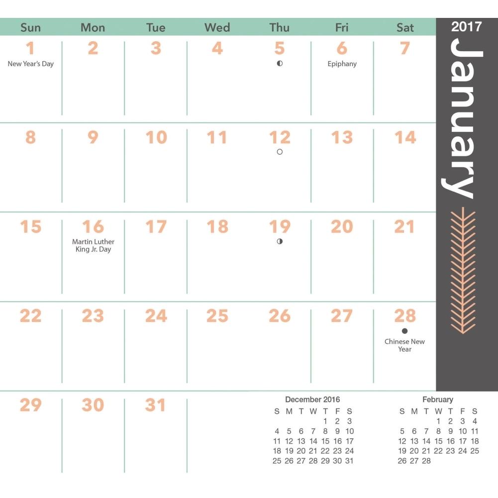 Printable Wallet Calendar 2017 Blank Calendar 2018  Xjb