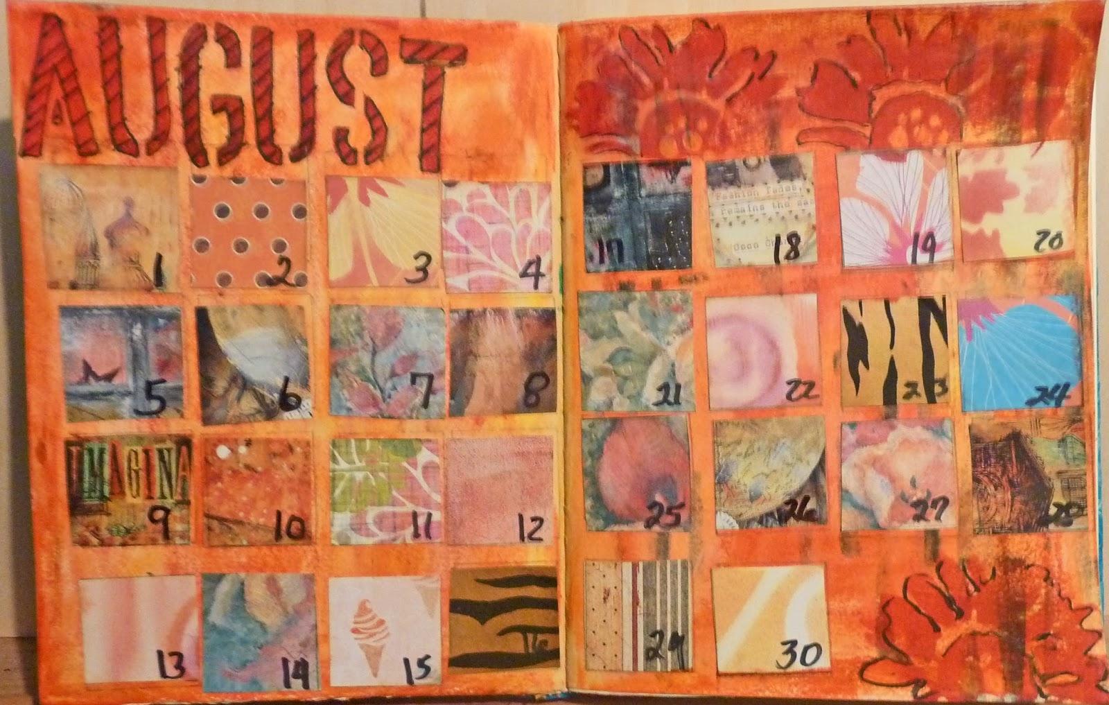 The Queen Of Creativity August Calendar 89uj