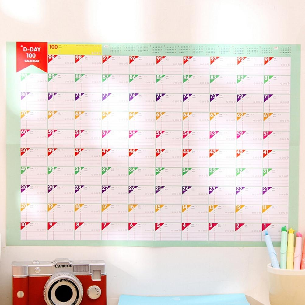 365 Countdown Calendar Free Calendar Template  Xjb