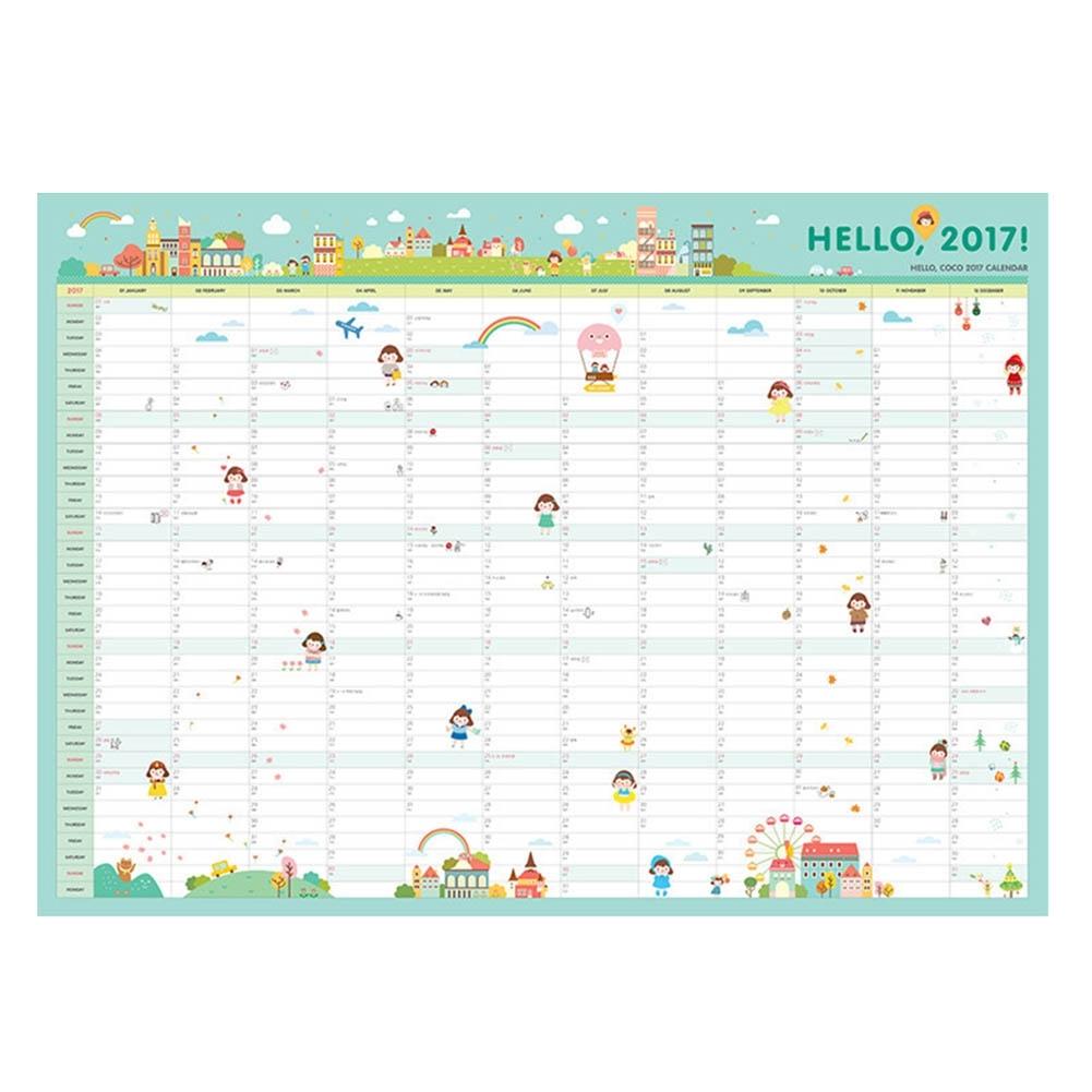 365 Day Countdown Calendar Free Calendar 2017 2018  Xjb