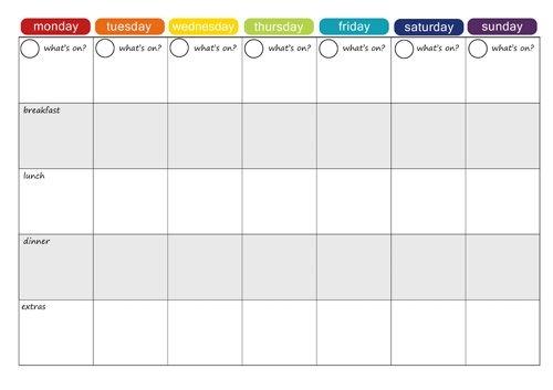 4 Week Calendar Template Savebtsaco