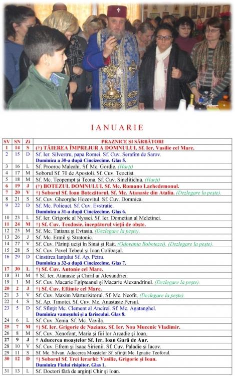 Calendar Cu Nume Ortodox Pe Stil Vechi Calendar Printable Template