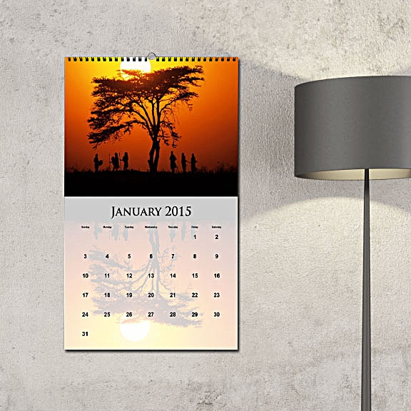 Create Custom Photo Calendars