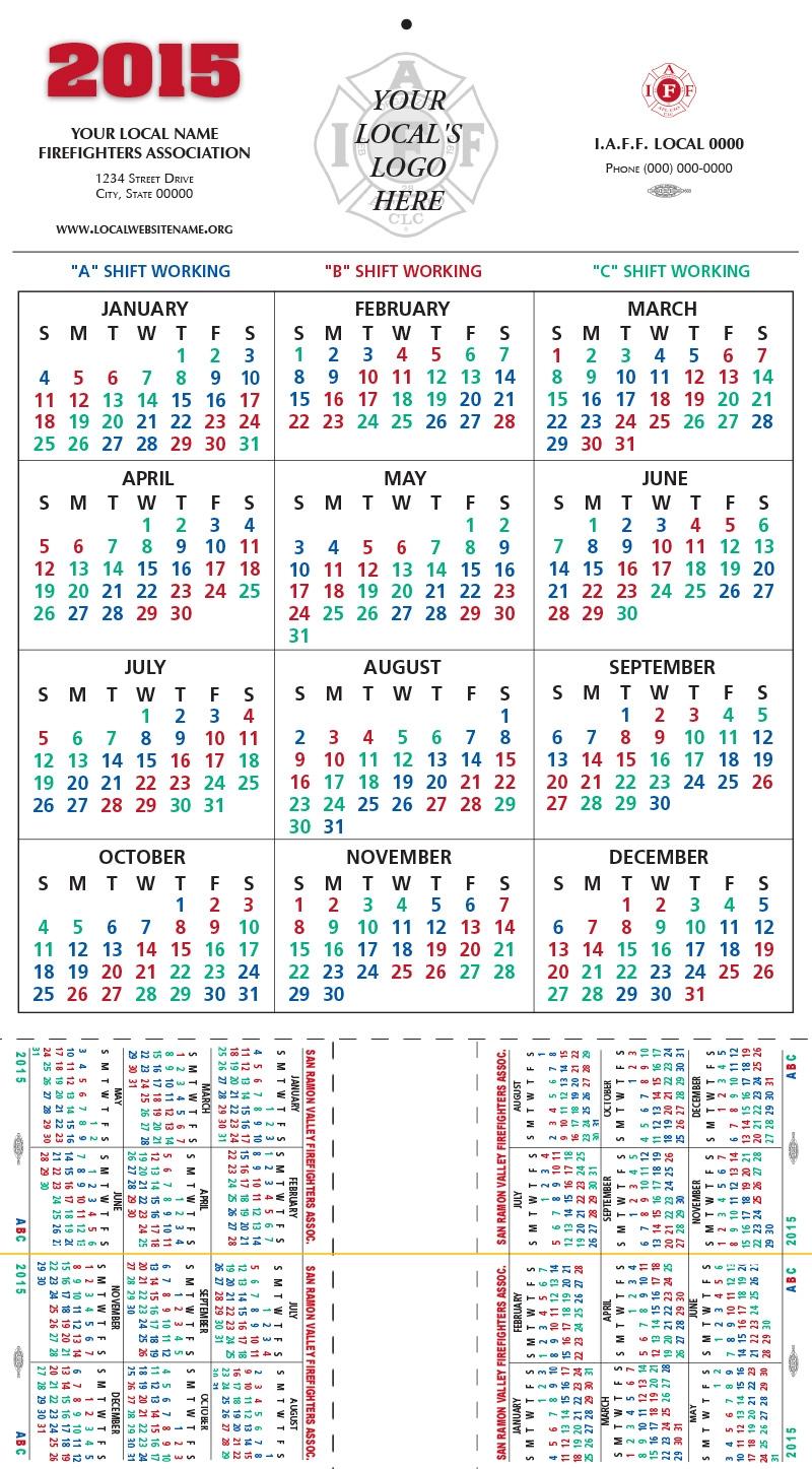 Firefighter Shift Calendar 2018 Kardasklmphotographyco  Xjb