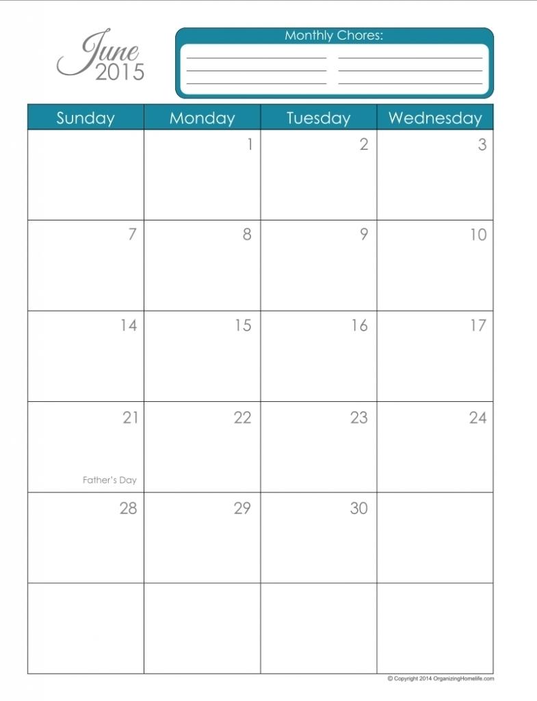 Free 85 X 11 Calendar Template Printable Calendar Template 2017