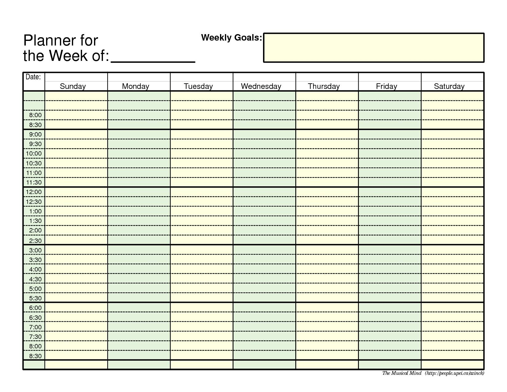 Free Printable Daily Calendar Calendar Month Printable