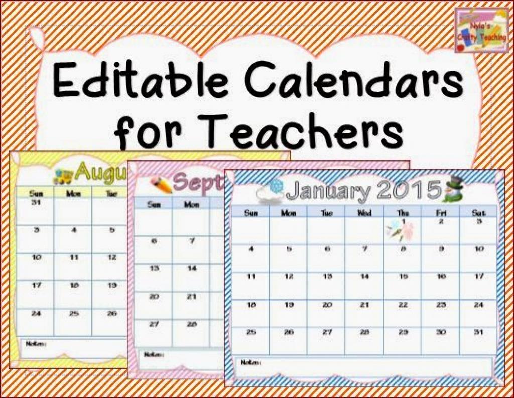 Free Printable Teacher Calendar Printable Online Calendar  Xjb
