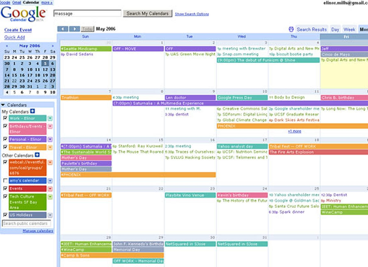 Images A Look At Web Based Calendars Page 3 Zdnet