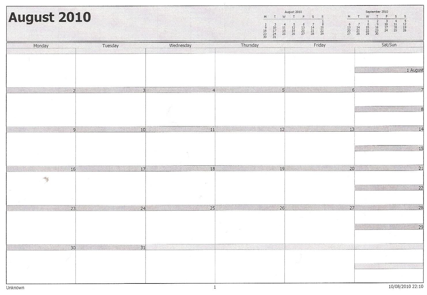 Philofaxy Microsoft Outlook Calendar Filofax 89uj