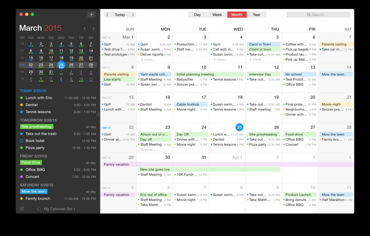The Most Beautiful Iphone Calendar App Is Now Available For Your Mac