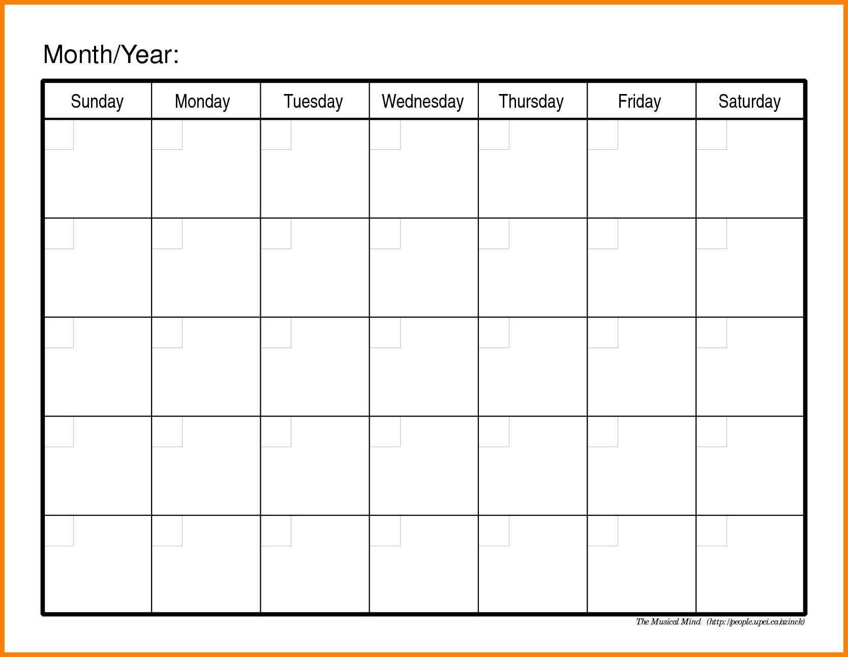 Fill In Calendars Kleobeachfixco