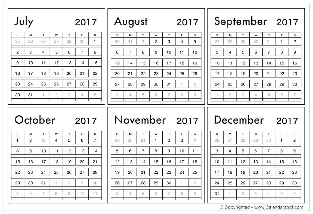 Free 6 Month Calendar Template 3 Month Calendar Template Free 6