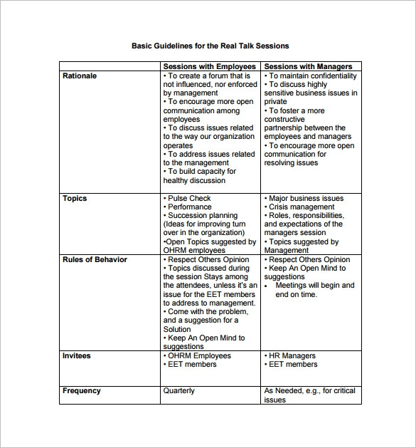 Sample Hr Action Plan Corrective Action Plan Example Fitted