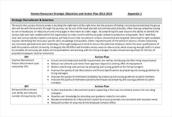 Sample Hr Action Plan Sales Manager Action Plan In Pdf Sample Sales