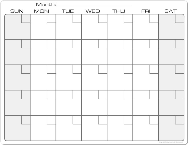 8 X 11 Calendar Printable Selol Inkco