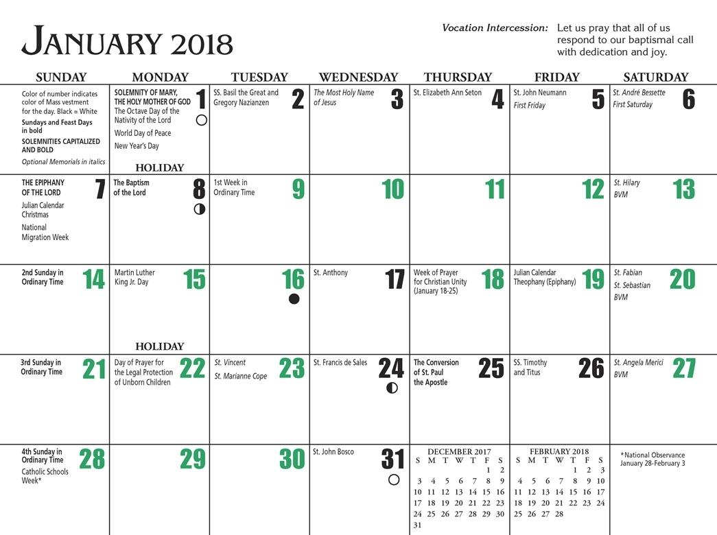 Free Catholic Calendar Jill Davis Design 89uj
