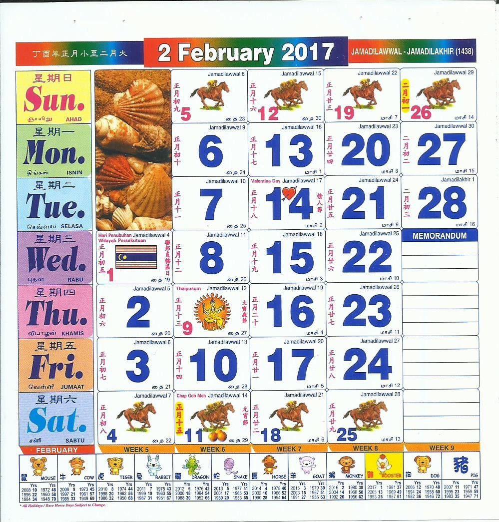 2017 May Monthly Printable Calendar Outstanding 1994 Nasionalis