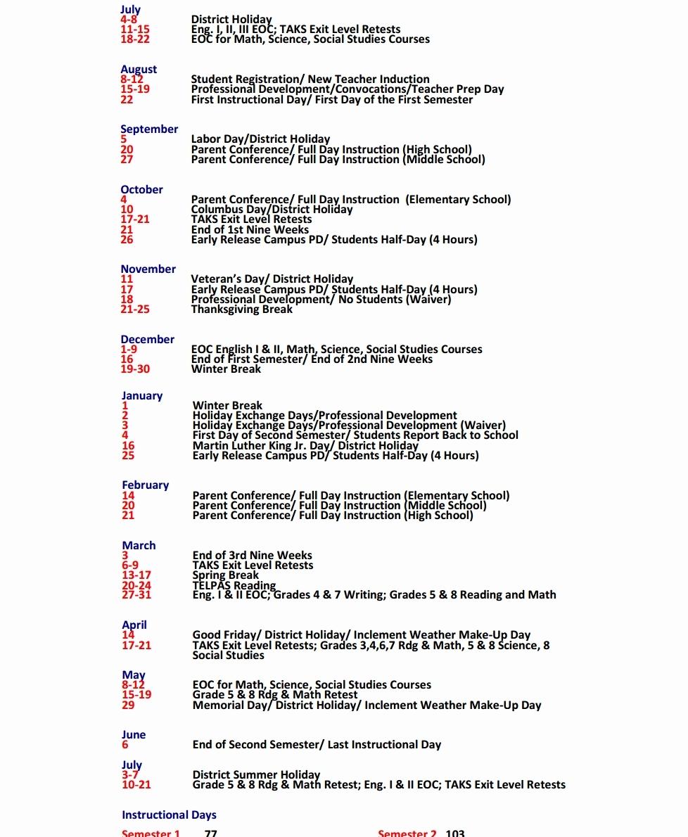 Yisd Calendar Yisd Calendar Calendar 2017 Printable