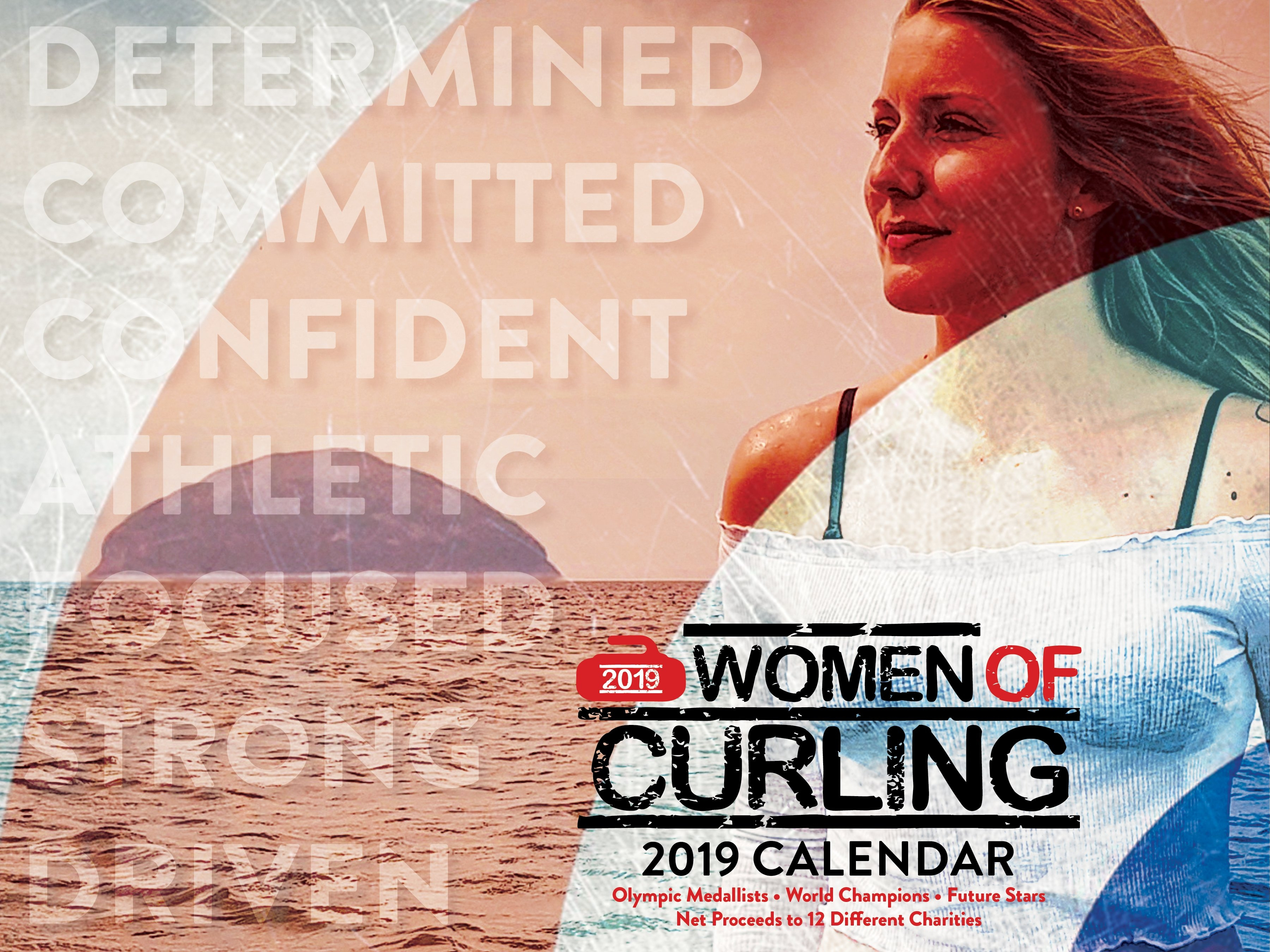 15 Athletes In 2019 Women Of Curling Calendar For Charity | The Fallout 4 Calendar 2019
