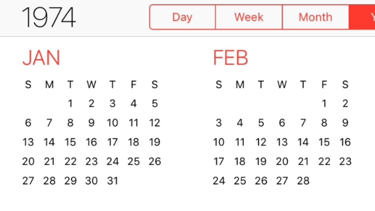 1974 Calendar – Youtube P C Shabadimath Kannada Calendar 2019