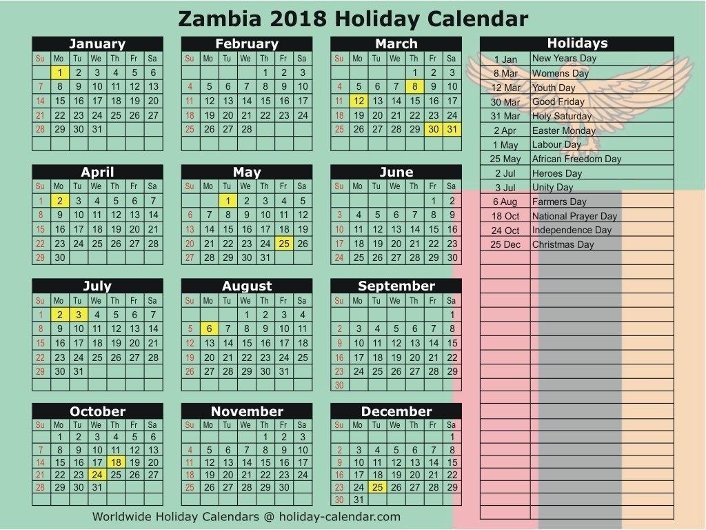 2018 Calendar Zimbabwe Pdf Download | Jazz Gear Calendar 2019 Zimbabwe