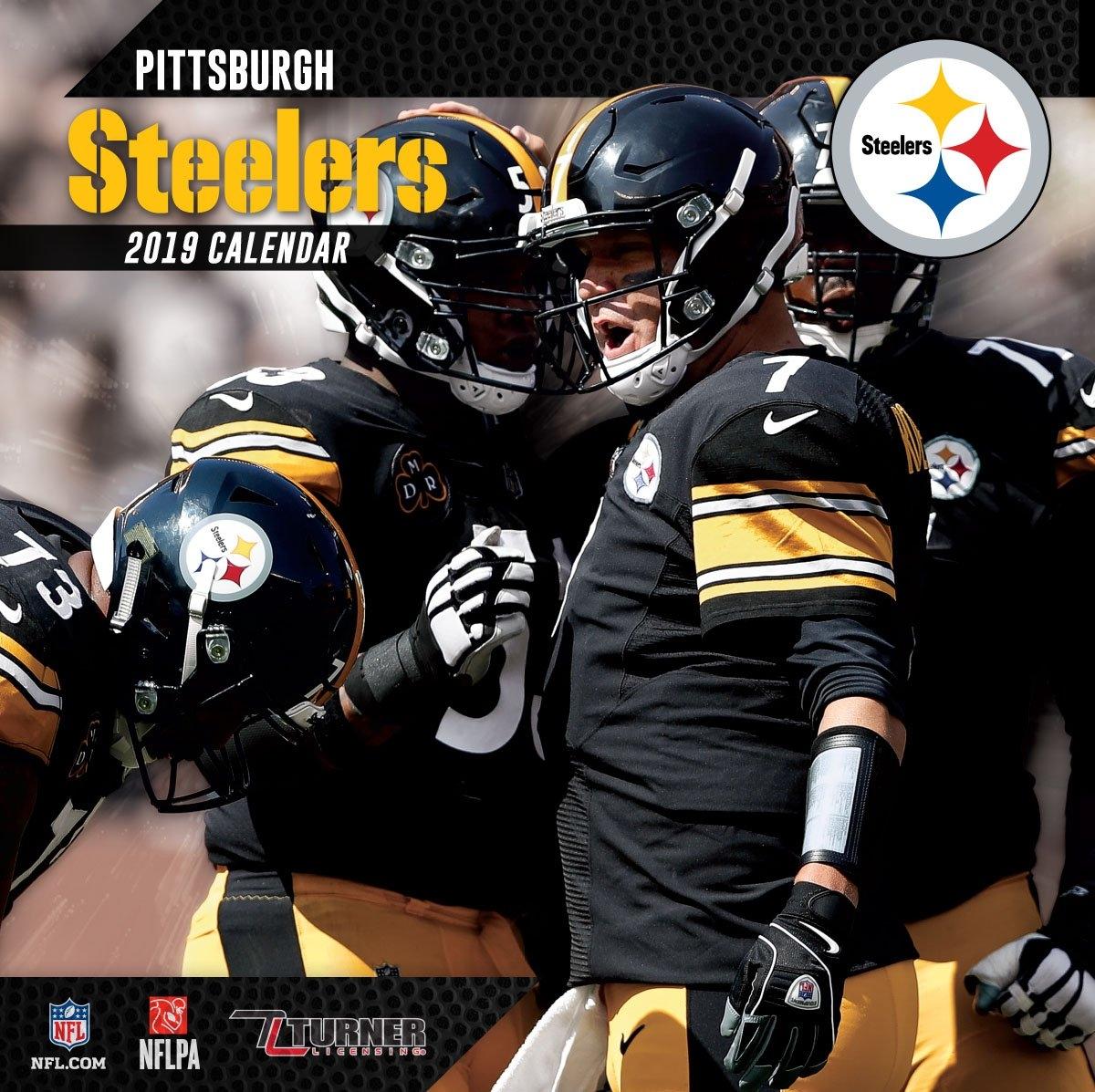 2019 12X12 Team Wall Calendar, Pittsburgh Steelers – Walmart Calendar 2019 Walmart
