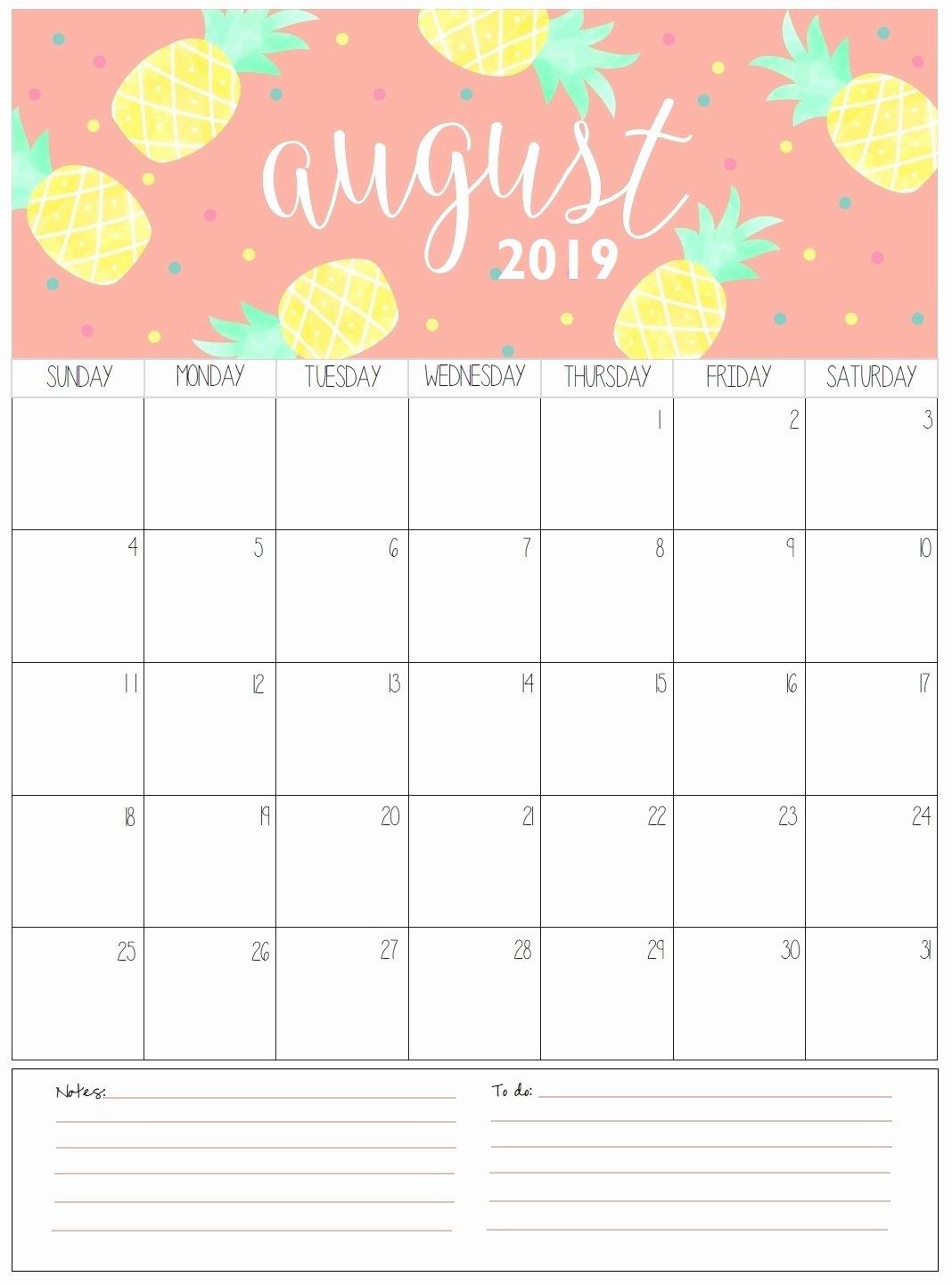 2019 Calendar – Free Printable Calendar 2018 Calendar 2019 Printable Free