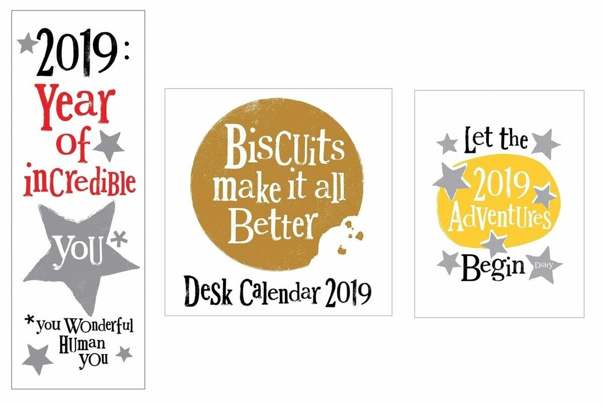 2019 Calendars And Diaries | Ebay Stores Calendar 2019 Ebay