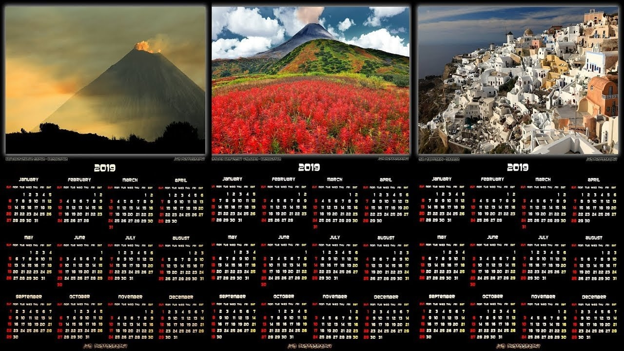 """2019 Calendars – Create And Purchase Your Own """"2019 World Travel Calendar 2019 Purchase"""