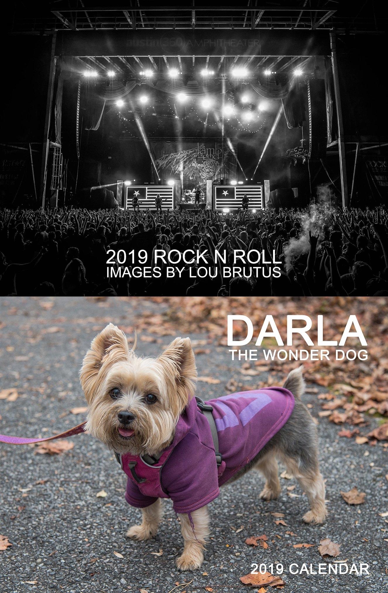 2019 Calendars From Lb & Darla – Lou Brutus – Sonic Warrior Rock N Roll Calendar 2019