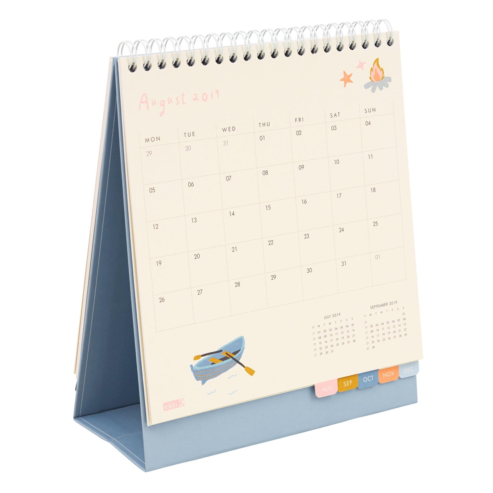2019 Desk Calendar: Sweet | Calendars | Kikki.k Calendar 2019 Desktop