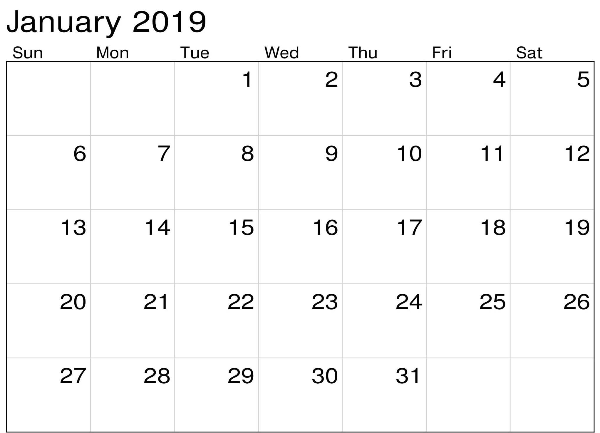 2019 January Calendar Png – Task Management Template Worksheet Calendar 2019 Png