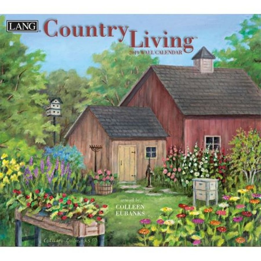 2019 Lang Calendar – Country Living – Artist Colleen Eubanks Calendar 2019 Lang