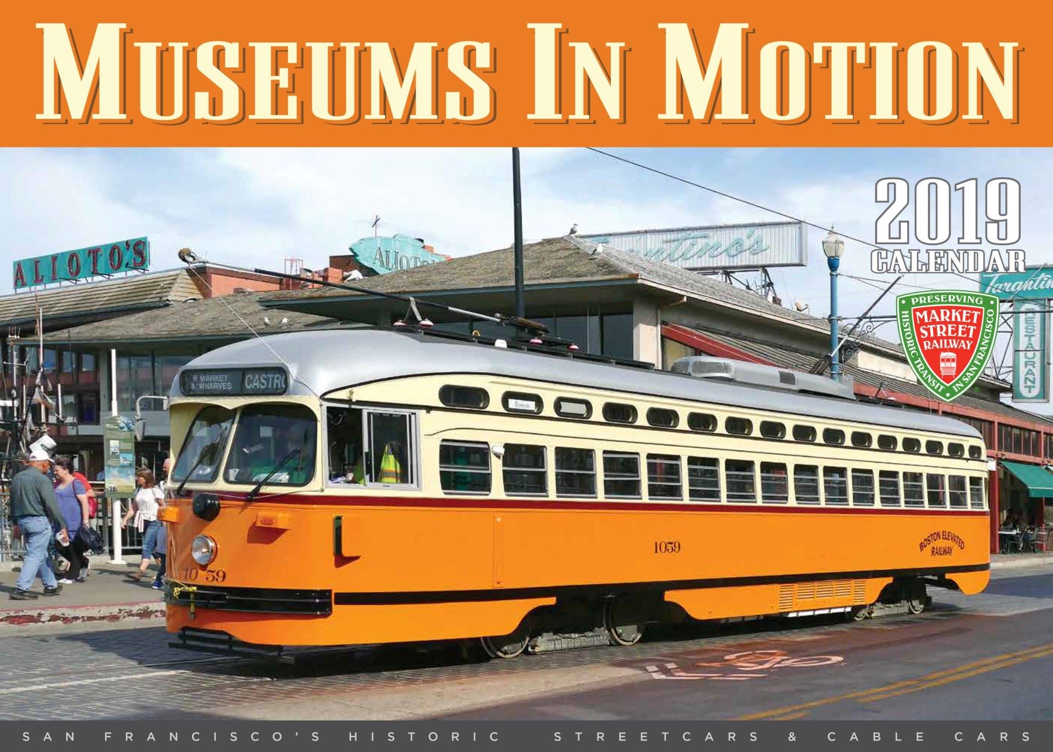 2019 Museums In Motion Calendar Calendar 2019 Bu