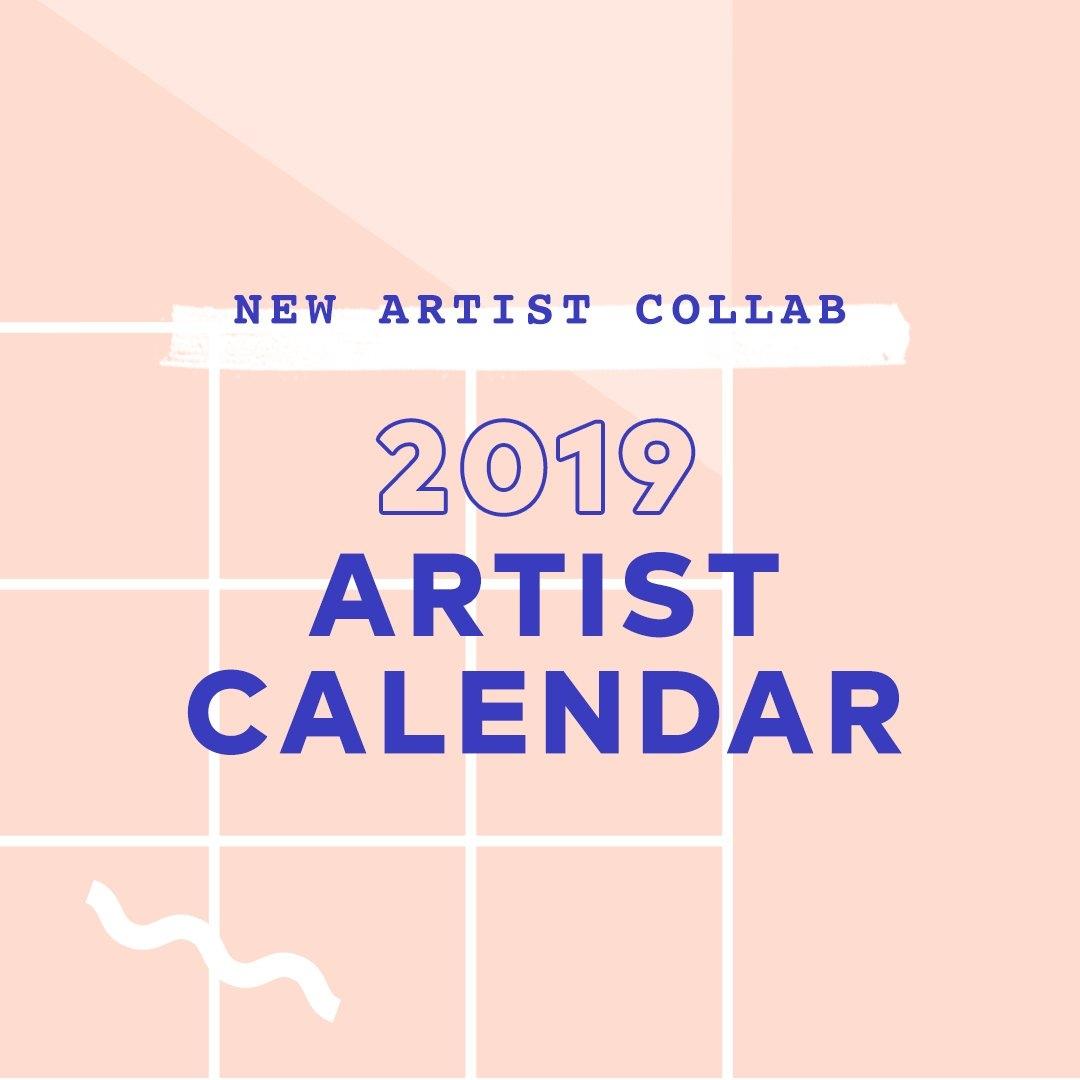 2019 S6 Artist Calendar – Call For Entries! – Society6 Blog Calendar 2019 Artist