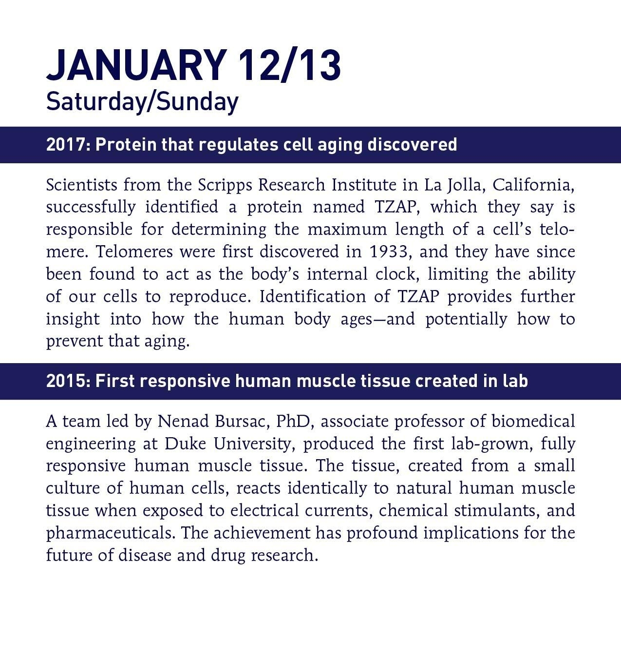 2019 This Day In Science Boxed Calendar: 365 Groundbreaking January 2019 Calendar 365