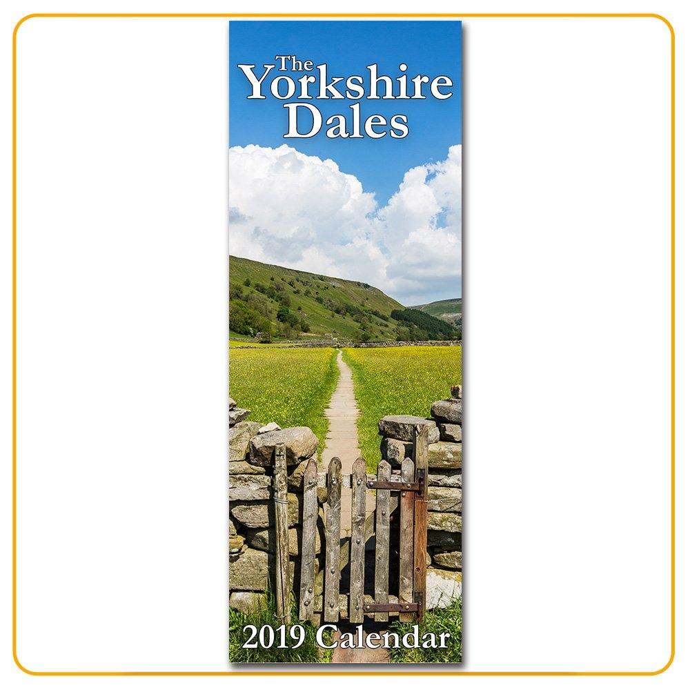 2019 Yorkshire Dales Calendar (Long & Thin)   Tom Holmes Photography Calendar 2019 Yorkshire