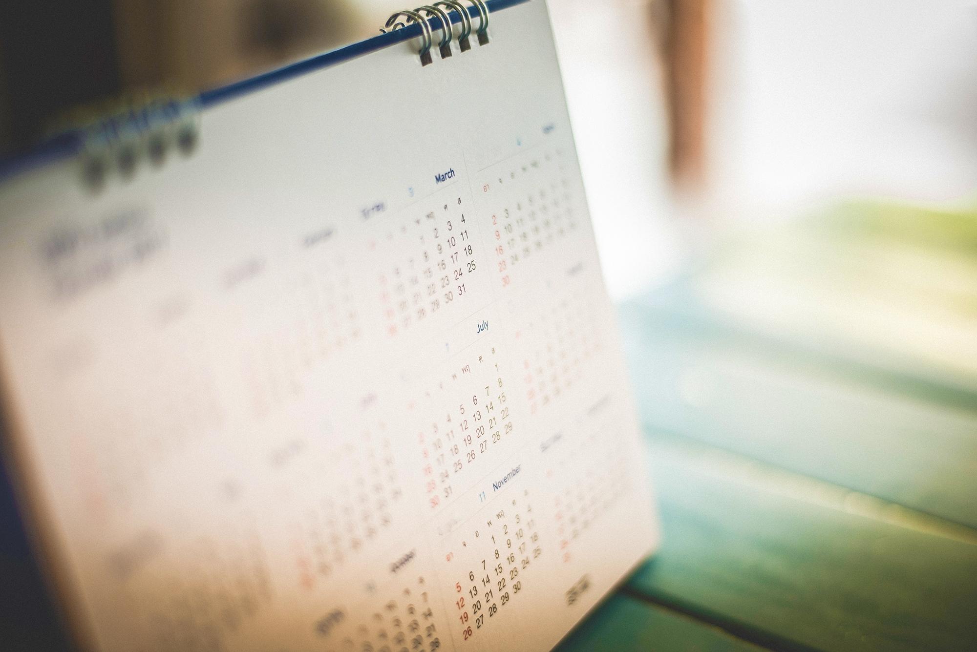 4 5 4 Calendar   Nrf 4 5 4 Calendar 2019