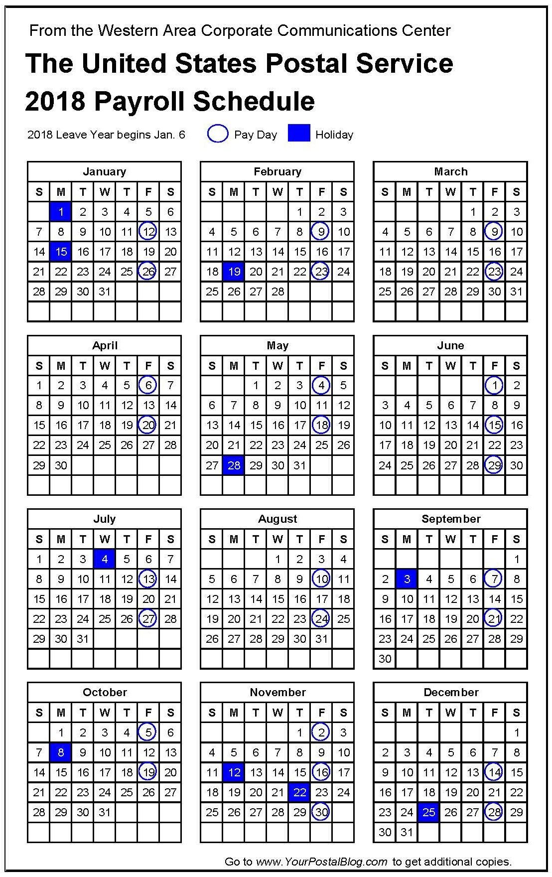4 Weekly Payroll Dates 2018   Payroll Calendars 4 Weekly Pay Calendar 2019
