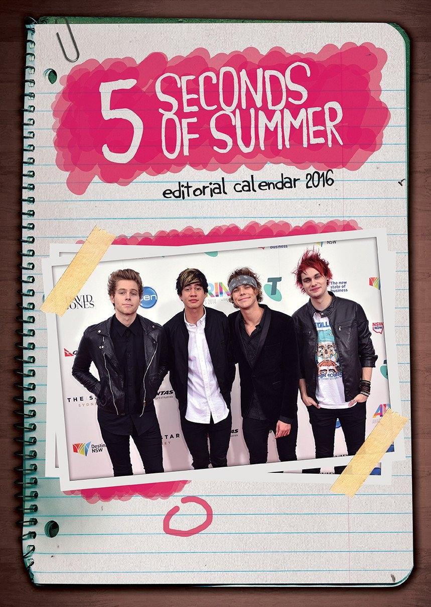 5 Seconds Of Summer – Calendars 2019 On Ukposters/abposters 5Sos Calendar 2019
