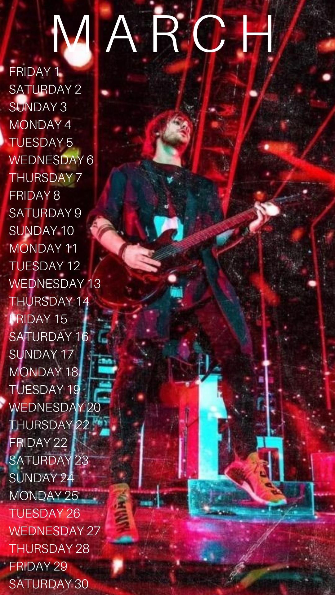 5Sos Calendars | Tumblr Calendar 2019 5Sos
