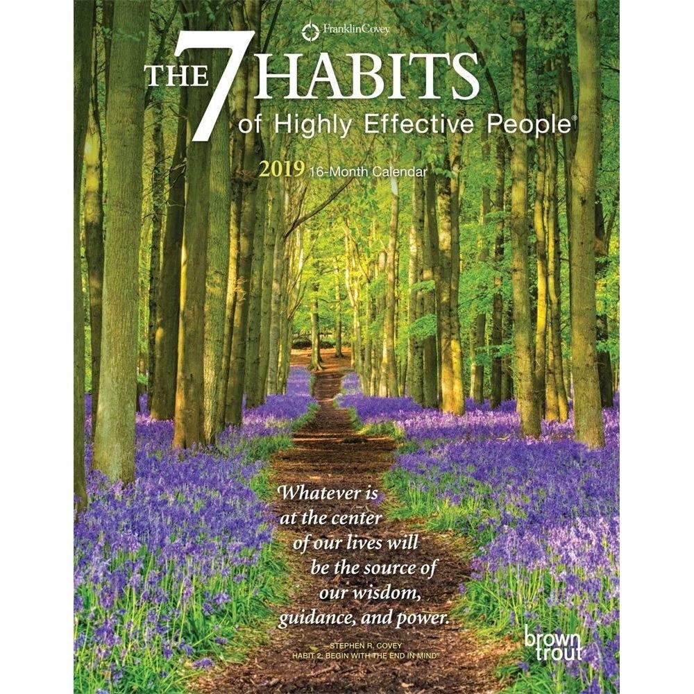 7 Habits 2019 Planner Calendars Books & Gifts – Foodsniffr Store 7 Habits Calendar 2019