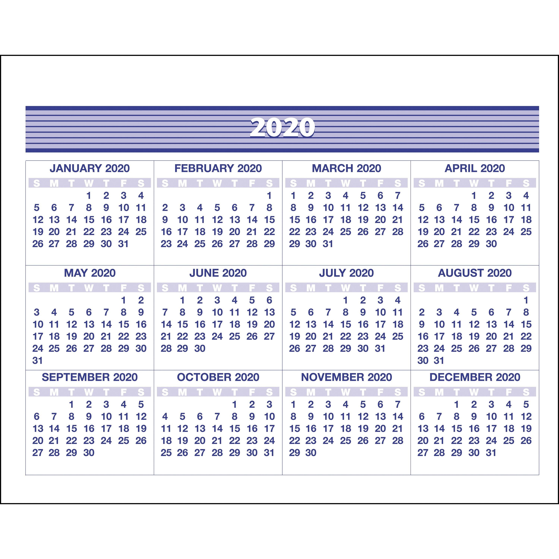 At A Glance Flip A Week Desk Calendar Refill – Yes – Weekly – 1 Year Calendar Week 50 2019